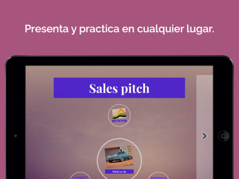 Prezi screenshot