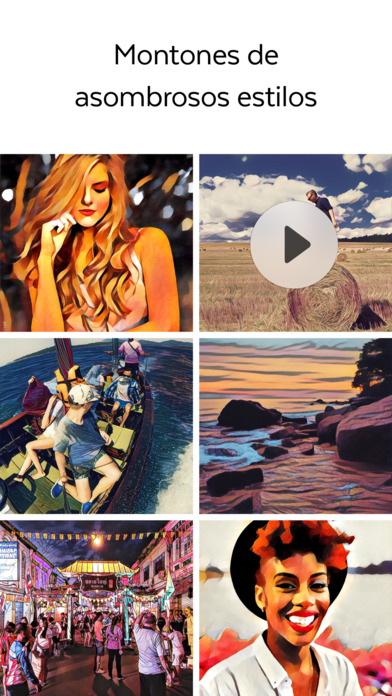 Prisma: Free Photo Editor, Art Filters Pic Effects screenshot