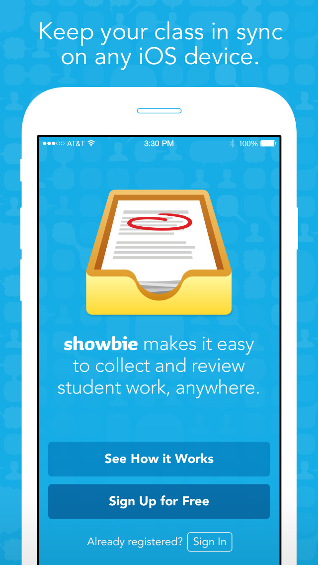 Showbie – Clase sin papel screenshot