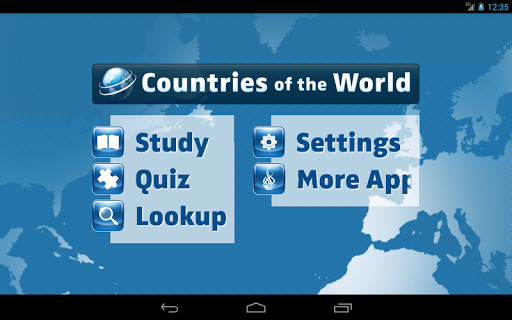 Countries of the World screenshot
