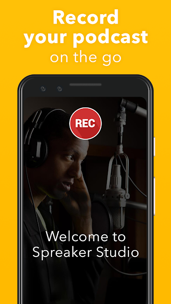 Spreaker Studio - Start your Podcast for Free screenshot