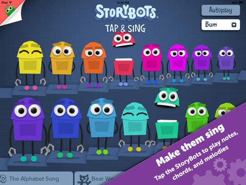Tap and Sing by StoryBots – Free, Fun Music Educational App to Learn Notes, Chords, and Melodies screenshot