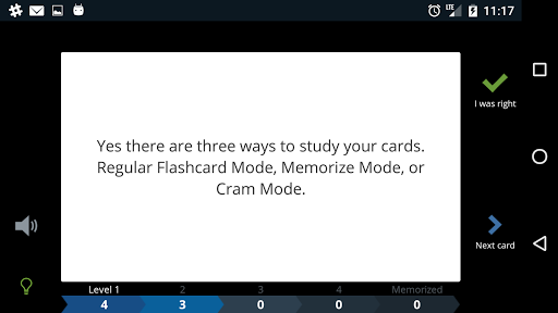 Cram.com Flashcards screenshot