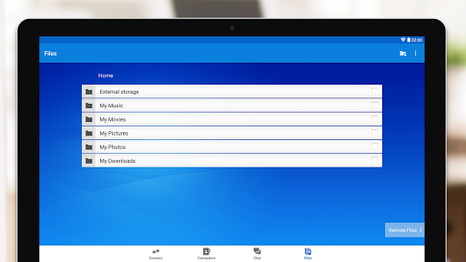 TeamViewer for Remote Control screenshot