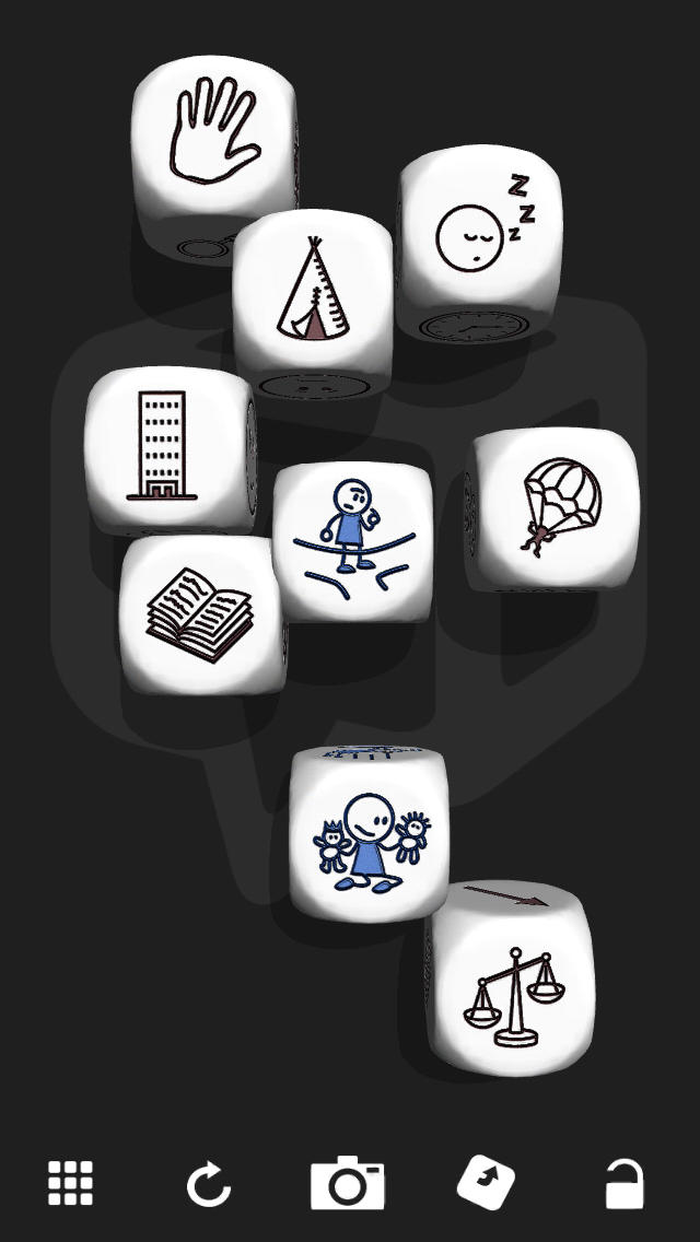 Rory´s Story Cubes screenshot