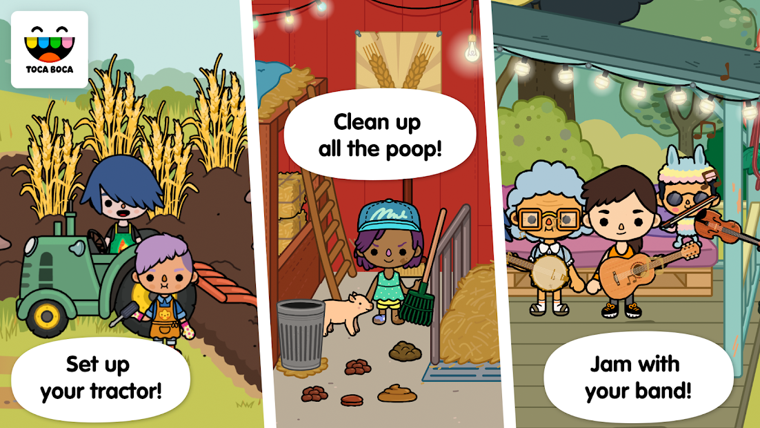 Toca Life: Farm screenshot