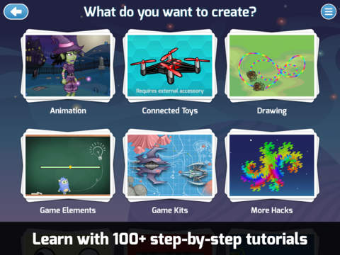 Tynker - Coding for kids. Visual programming to code games and apps. screenshot