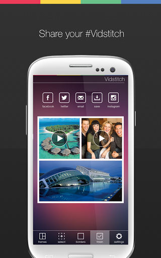 Vidstitch Free - Video Collage screenshot