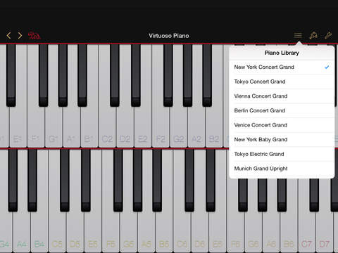 Virtuoso Piano 4 screenshot