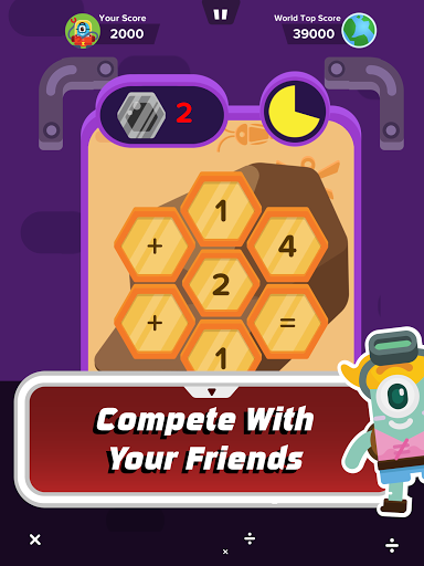 Zap Zap Math : K-6 Math Games screenshot