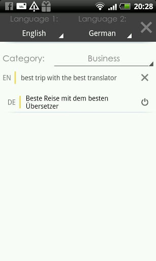 Translator Speak & Translate screenshot
