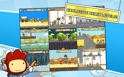 Scribblenauts Remix screenshot