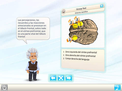 Einstein™ entrena tu cerebro HD screenshot