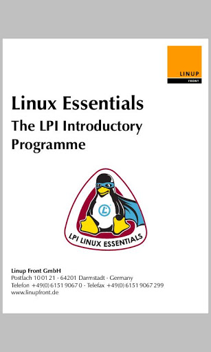 Linux Essentials screenshot