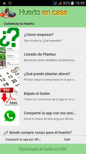 Tu Huerto en Casa screenshot