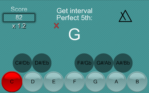 Music School:Interval & chords screenshot