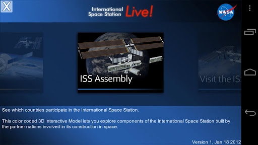 ISSLive screenshot