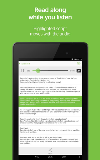 LearnEnglish Podcasts screenshot