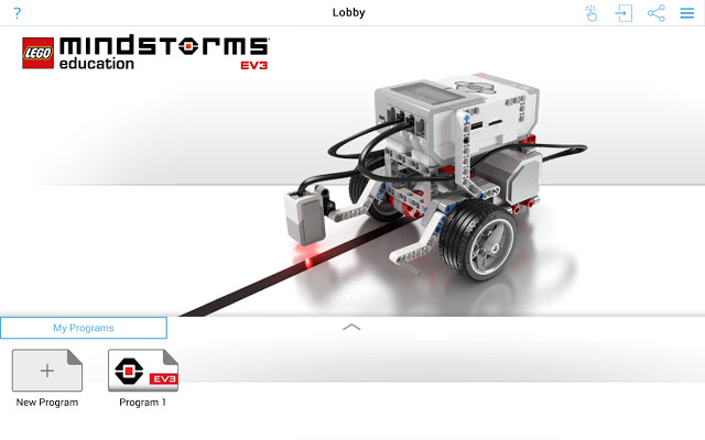 LEGO MINDSTORMS Education EV3 screenshot