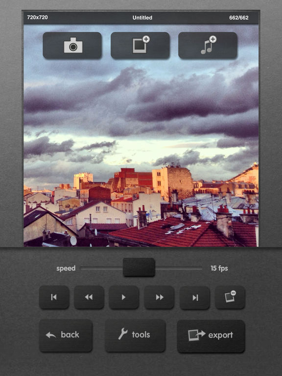 iMotion screenshot