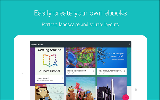 Book Creator screenshot