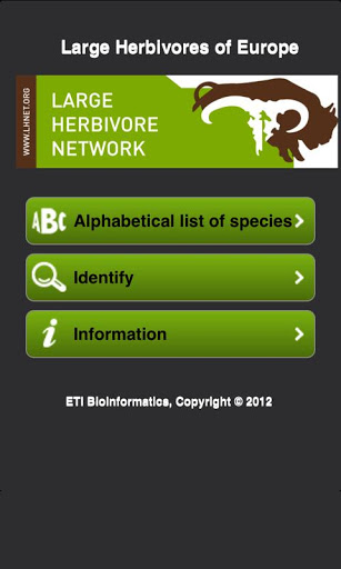 European Large Herbivores screenshot