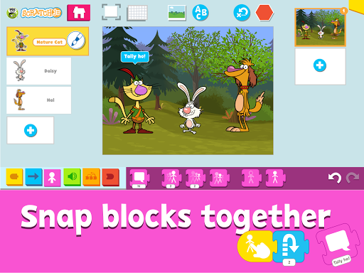 PBS KIDS ScratchJr screenshot