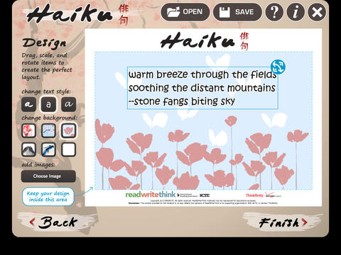 Haiku Poem screenshot