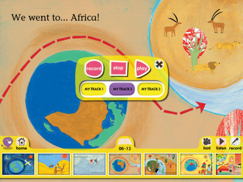 Collins Big Cat: Around the World Story Creator screenshot