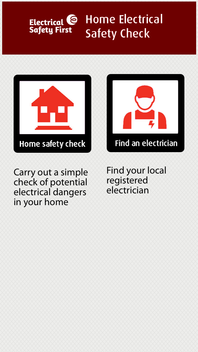 Home Electrical Safety Check screenshot