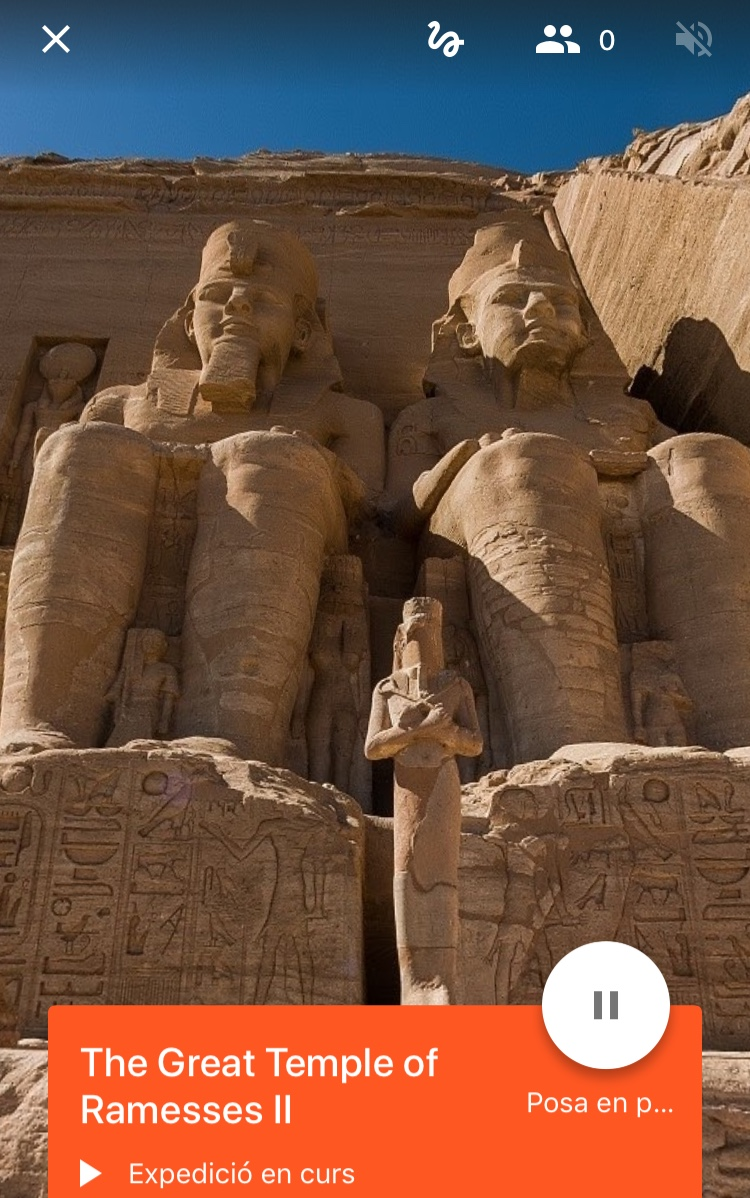 Visita virtual a Abu-Simbel