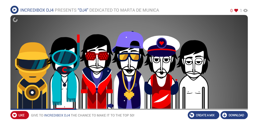 INCREDIBOX DJ4